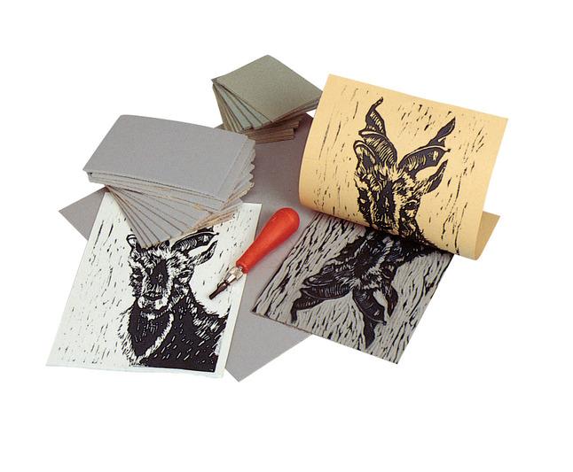 Linoleum Block Printing, Item Number 356771