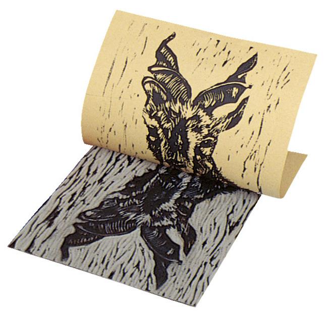 Linoleum Block Printing, Item Number 468824