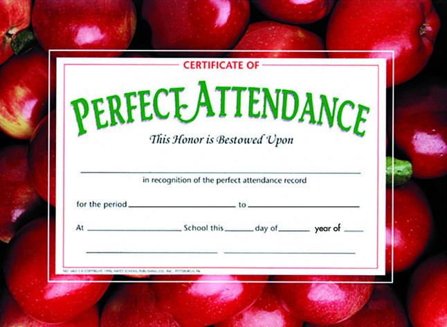 Award Certificates, Item Number 357052