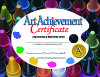 Award Certificates, Item Number 357059