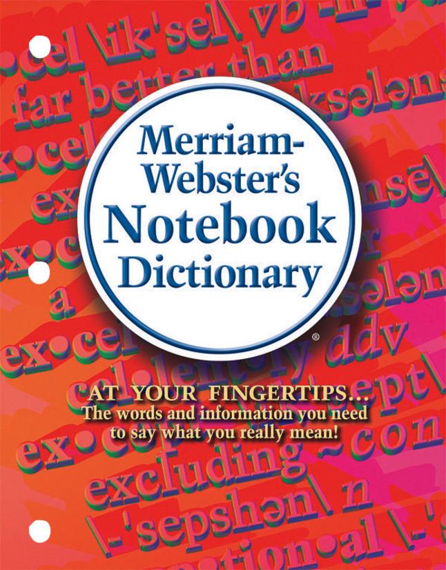 Dictionary, Item Number 078547