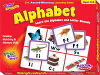 Alphabet Games, Alphabet Activities, Alphabet Learning Games Supplies, Item Number 357945