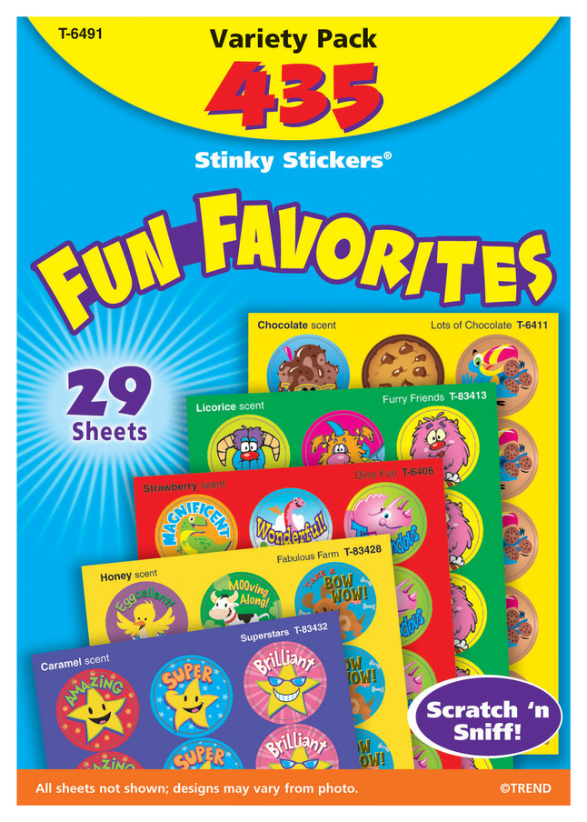Stickers and Envelope Seals, Item Number 358047