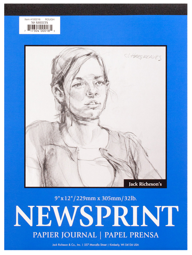 Newsprint Paper, Newsprint Pads, Item Number 358736