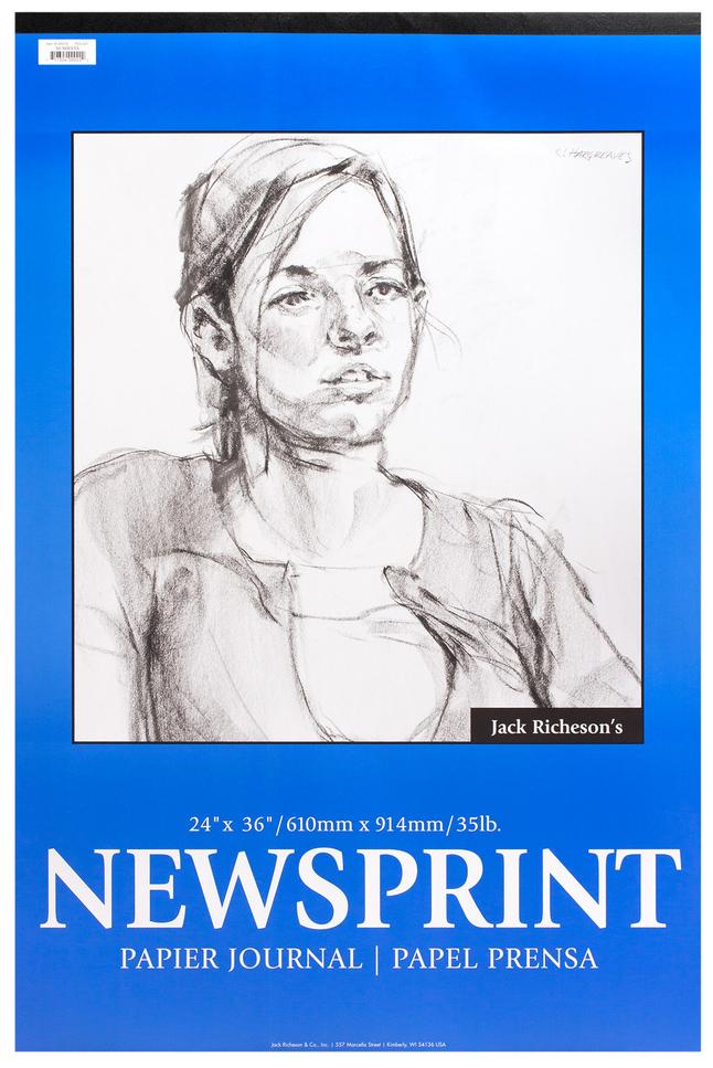 Newsprint Paper, Newsprint Pads, Item Number 358778