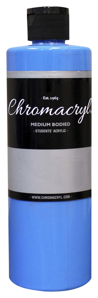 Chromacryl Premium Students Acrylic Paint, Pint, Cobalt Item Number 361454