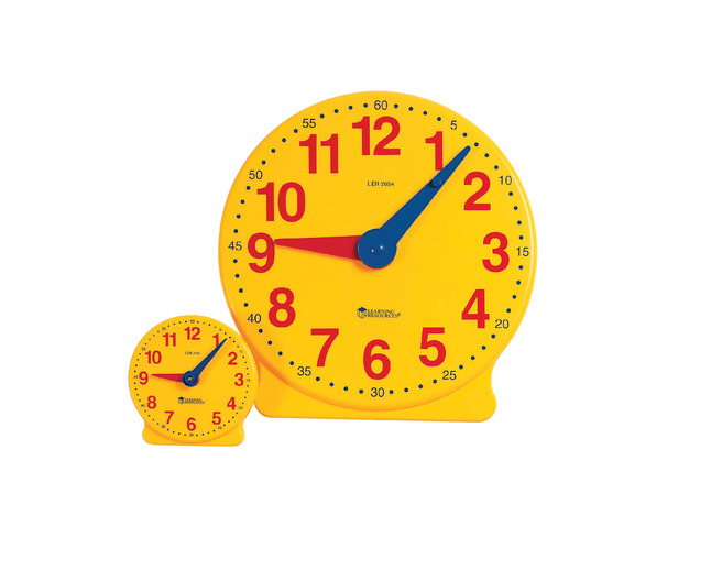 Telling Time, Time Games Supplies, Item Number 080565