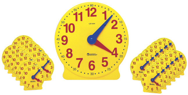 Telling Time, Time Games Supplies, Item Number 367404