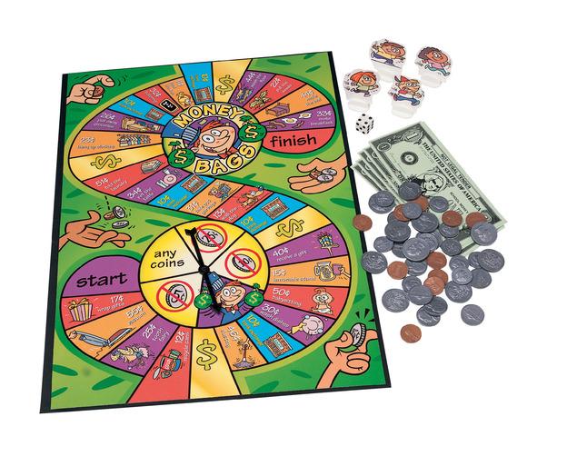 Money Games, Play Money Activities, Play Money Supplies, Item Number 373766
