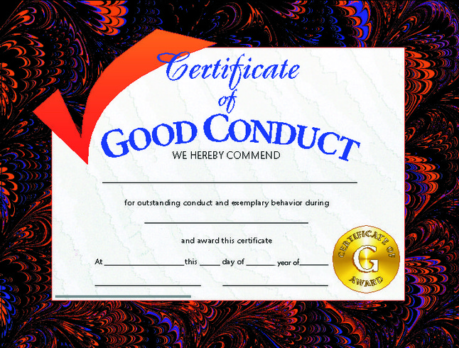 Award Certificates, Item Number 376790