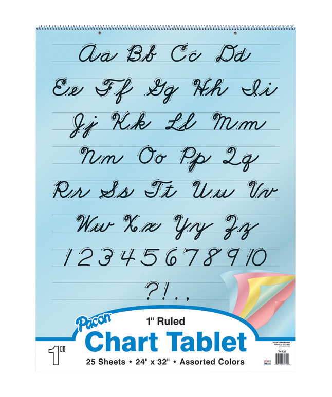 Chart Tablets, Chart Supplies, Item Number 384808