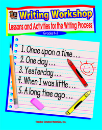 Writing Practice, Activities, Books Supplies, Item Number 386100