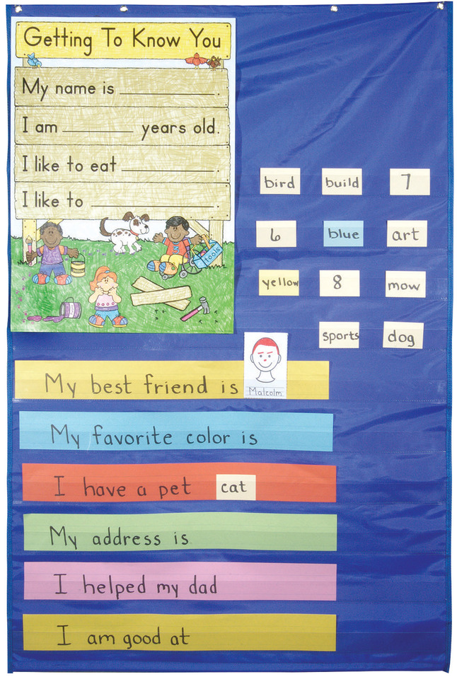 Teacher, Classroom Pocket Charts Supplies, Item Number 387557