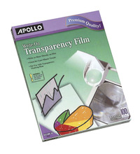 Transparency Film, Transparency Sheets Supplies, Item Number 389555