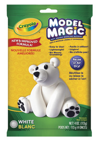 Crayola Model Magic Mess-Free Modeling Dough, Non-Toxic, 2 Pounds, White Item Number 391130