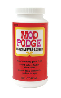 Mod Podge Sealer and Finish, 1 Pint Jar Item Number 399806