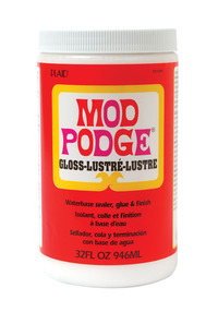 Mod Podge Sealer and Finish, 1 Quart Jar Item Number 399809