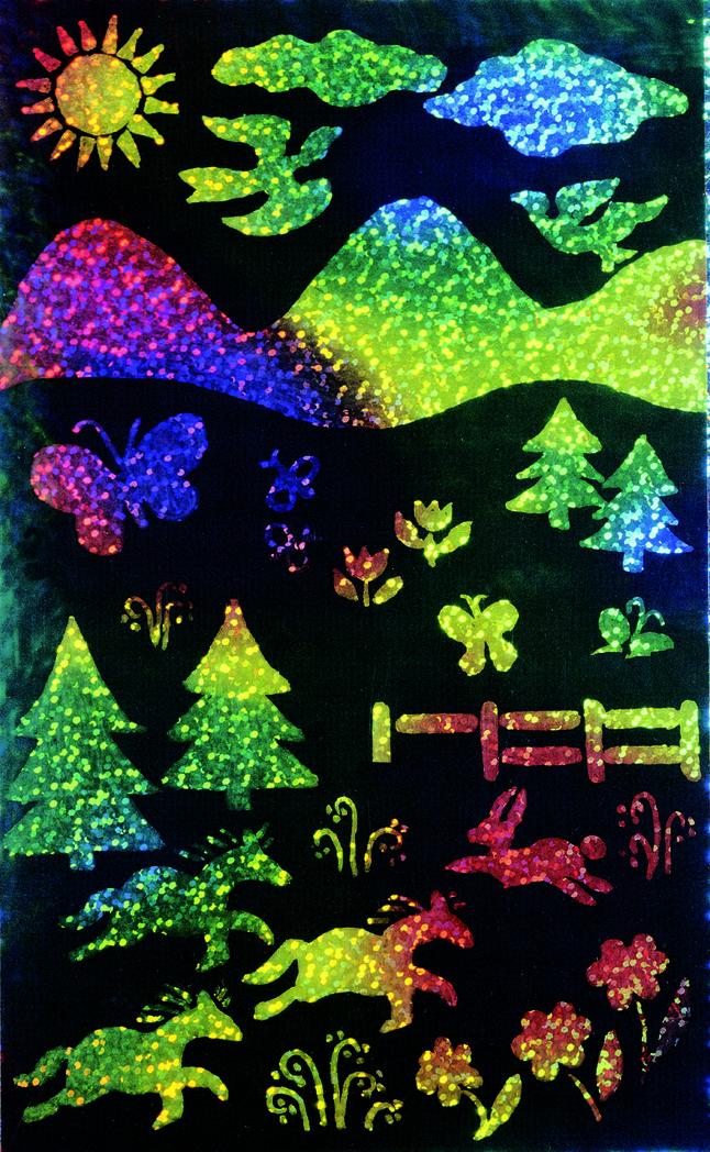 Scratch Art Paper, Scratch Art Boards, Scratch Art Sheets Supplies, Item Number 401180