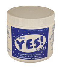Yes! Paste Non-Toxic Water Based Glue, 19 Ounce Jar Item Number 401632