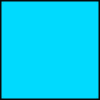 Sax Colored Art Paper, 12 x 18 Inches, Cyan Blue, 50 Sheets Item Number 402008