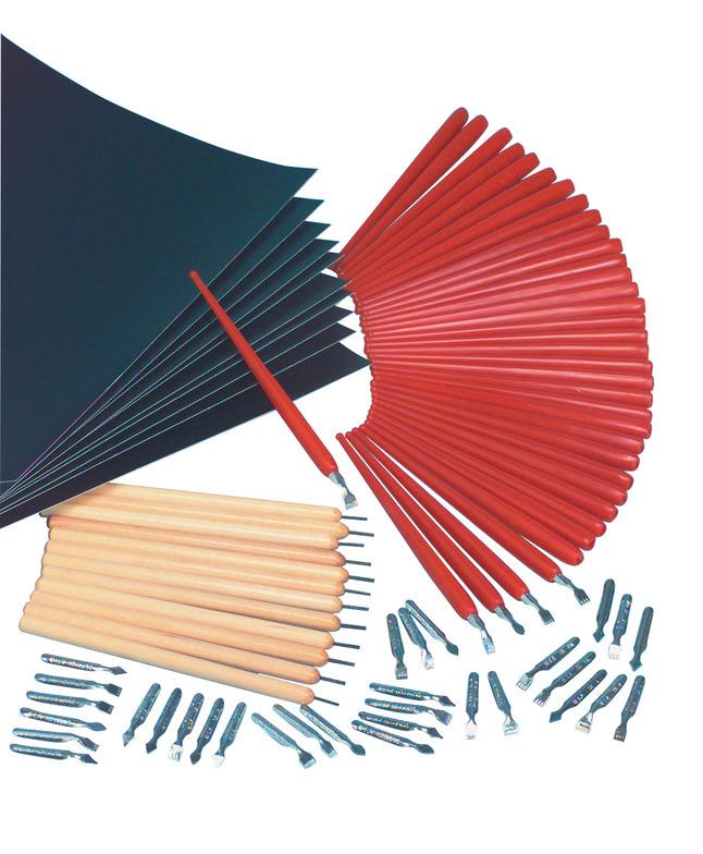 Scratch Art Kits, Scratch Art Tools, Scratch Art Supplies, Item Number 402410