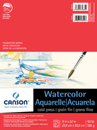 Watercolor Paper, Watercolor Pads, Item Number 403428