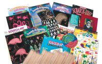 Scratch Art Kits, Scratch Art Tools, Scratch Art Supplies, Item Number 404187