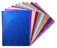 Hygloss Metallic Foil Paper, 8-1/2 x 10 Inches, Assorted Colors, 24 Sheets Item Number 214317