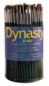 Synthetic Brushes, Item Number 404600