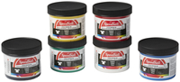 Speedball Non-Toxic Non-Flammable Water Soluble Screen Printing Ink Set for Fabric, 4 oz Jar, Assorted Color, Set of 6 Item Number 404601