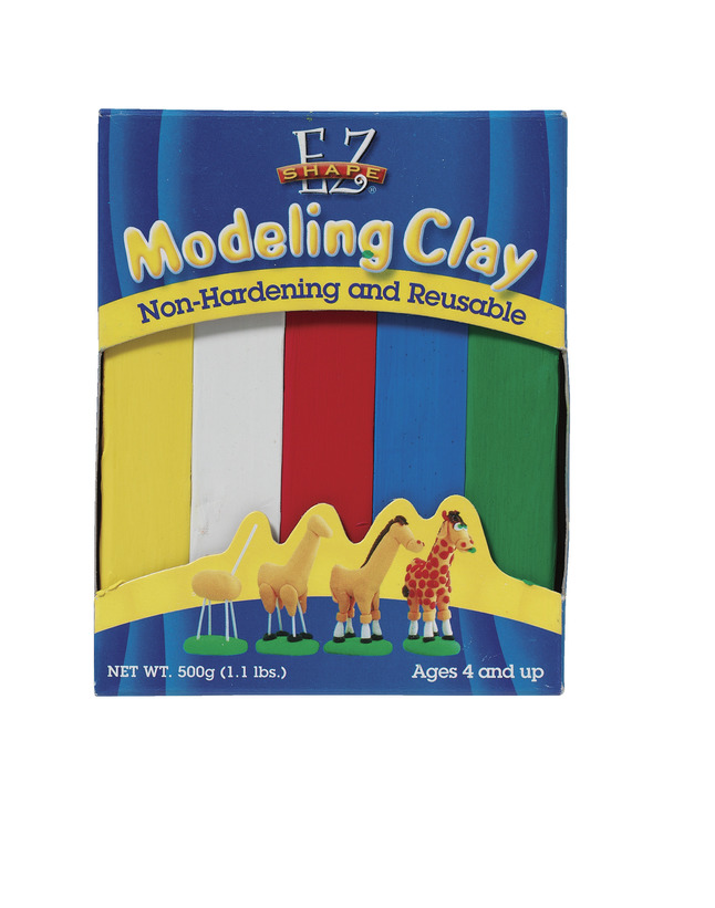 Clay and Modeling, Item Number 404717