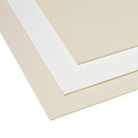 Crescent Mat Board, 30 x 42 Inches, White/Cream Pebbled, Pack of 10 Item Number 1394623