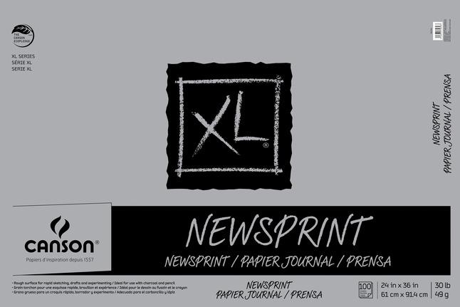 Newsprint Paper, Newsprint Pads, Item Number 407603