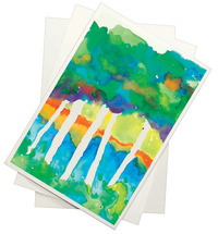 Sax Halifax Cold Press Watercolor Paper, 11 x 15 Inches, 90 lb, White, 100 Sheets Item Number 206429