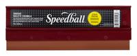 Speedball Medium Hard Fabric Plastic Handle Squeegee, 9 in, 3/8 in, Beige Item Number 409318