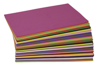 WonderfoamFoam Sheet, 5-1/2 X 8-1/2 in, Assorted Color, Pack of 40 Item Number 409333