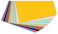 Pacon Acid-Free Heavy Weight Card Stock, 12 x 12 Inch, Assorted Colors, 160 Sheets Item Number 409338