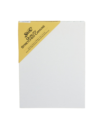 Sax Quality Stretched Canvas, Double Acrylic Primed, 9 x 12 Inches, White Item Number 409741
