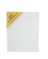 Sax Quality Stretched Canvas, Double Acrylic Primed, 11 x 14 Inches, White Item Number 409742