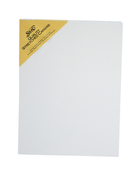 Sax Quality Stretched Canvas, Double Acrylic Primed, 12 x 16 Inches, White Item Number 409743