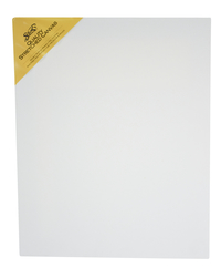Sax Quality Stretched Canvas, Double Acrylic Primed, 16 x 20 Inches, White Item Number 409745