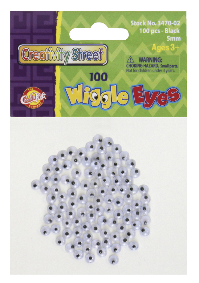 Googly Eyes and Wiggle Eyes, Item Number 409848