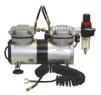 Airbrush Compressor and Supplies, Item Number 410349
