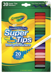Washable Markers, Item Number 410492