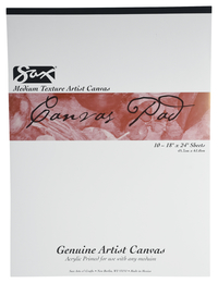 Canvas Pad, Item Number 410605