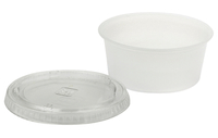 Art Utility Cups, 3-1/4 Ounces, Clear, Pack of 125 Item Number 410712