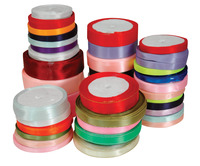 Stanislaus Woven Edge Ribbon Assortment, 640 Yards, 2 Pounds Item Number 410735