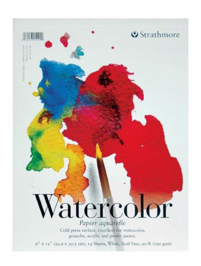 Watercolor Paper, Watercolor Pads, Item Number 411254