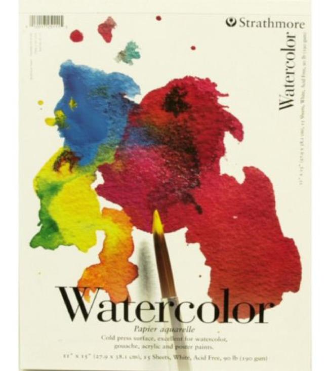 Watercolor Paper, Watercolor Pads, Item Number 411255