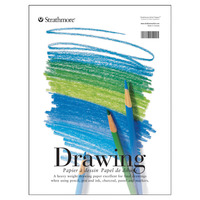 Strathmore 200 Series Drawing Pad, 11 x 14 Inches, 70 lb, 40 Sheets Item Number 411263